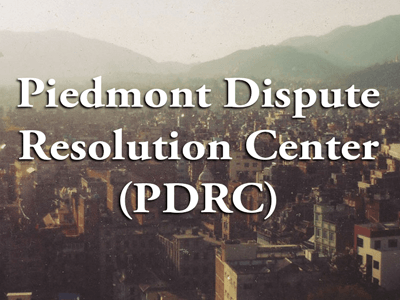 Piedmont Dispute Resolution Center Mental Health Association of Fauquier