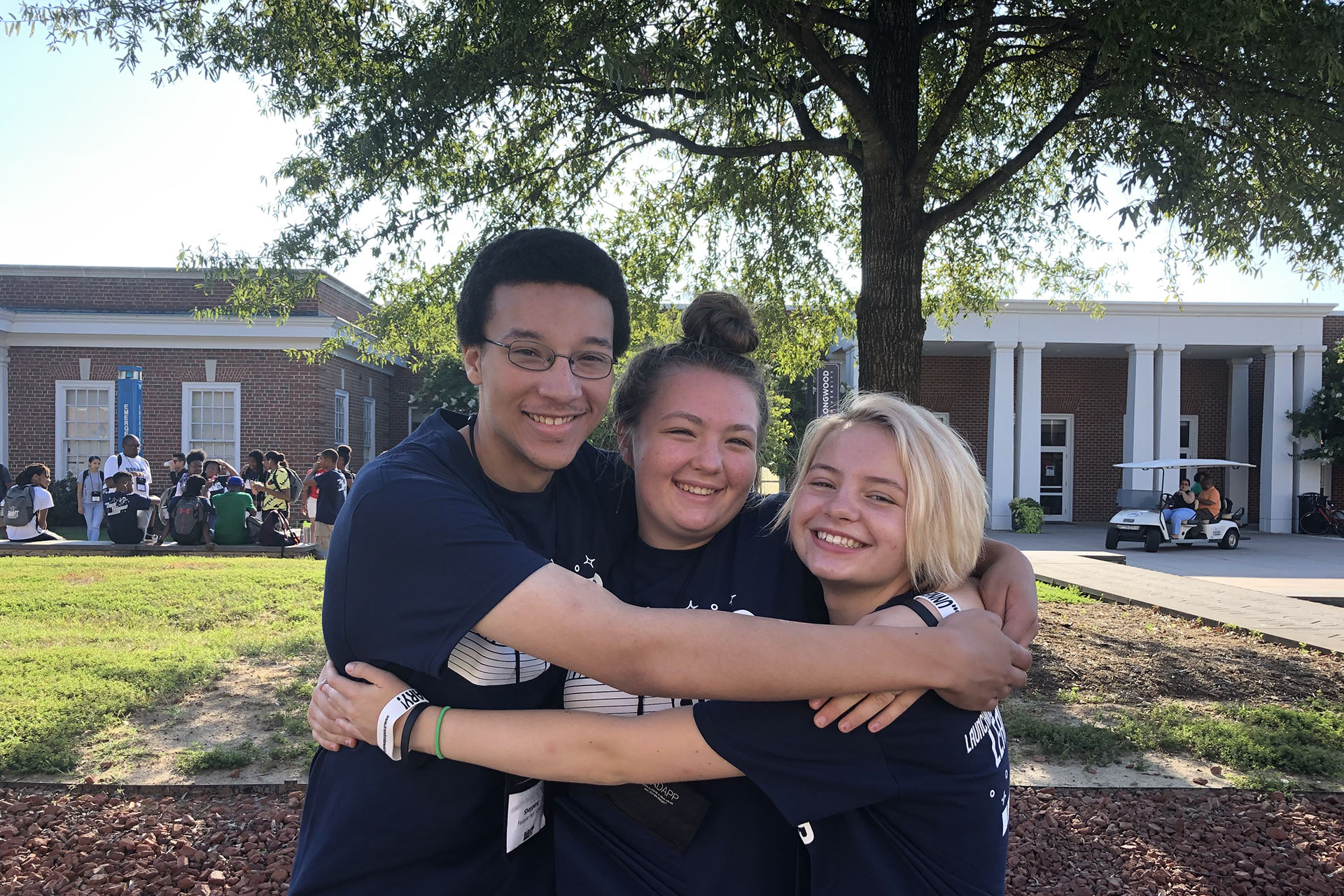 Mental Health Association of Fauquier - Happy Teens Hug
